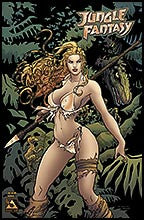 Jungle Fantasy Annual #1 Gold Foil