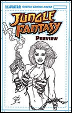 Jungle Fantasy Preview Shaw Sketched