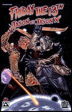FRIDAY THE 13TH: Jason vs Jason X #1 Blood Red Con