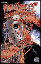 FRIDAY THE 13TH: Jason vs Jason X #2 Blood Red Con