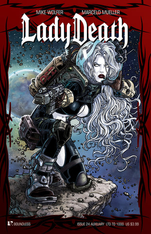 LADY DEATH #24 AUXILIARY COVER