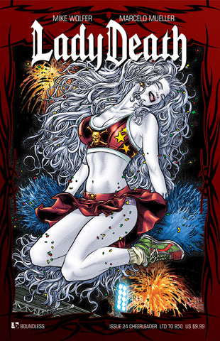 LADY DEATH #24 CHEERLEADER COVER