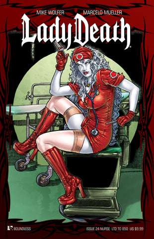 LADY DEATH #24 NURSE