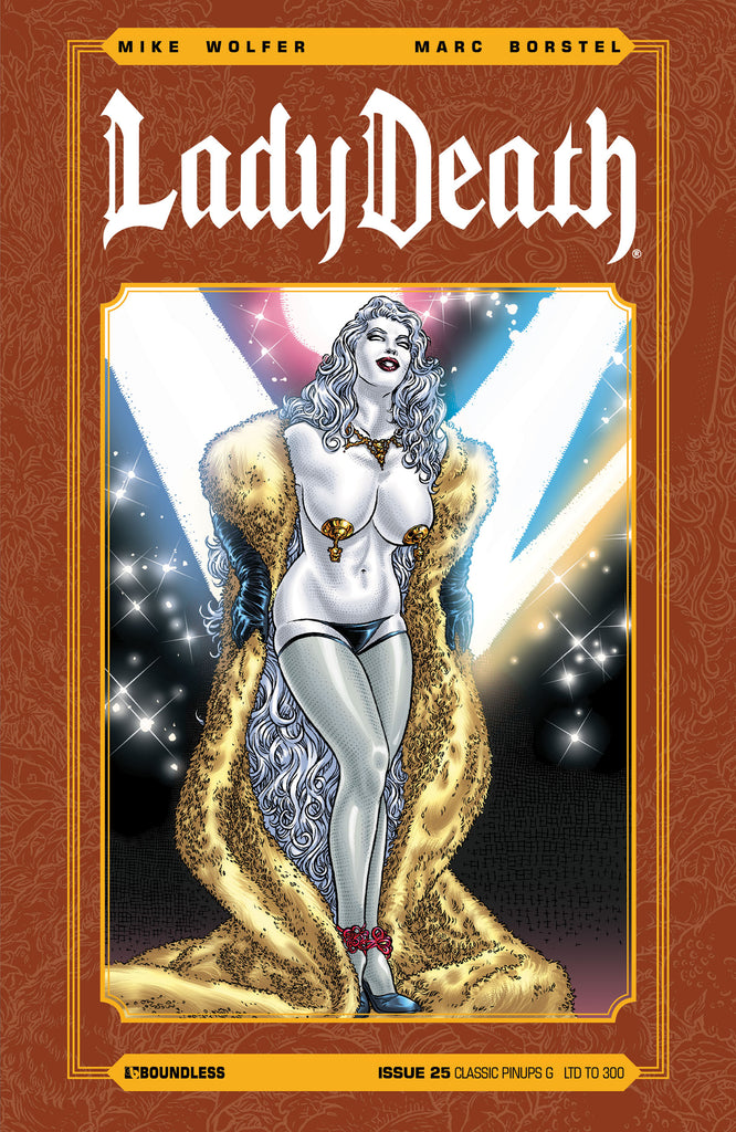 LADY DEATH #25 CLASSIC PINUPS G