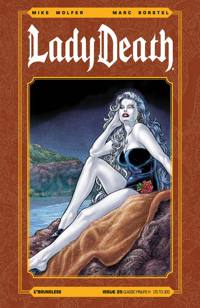 LADY DEATH #25 CLASSIC PINUPS H