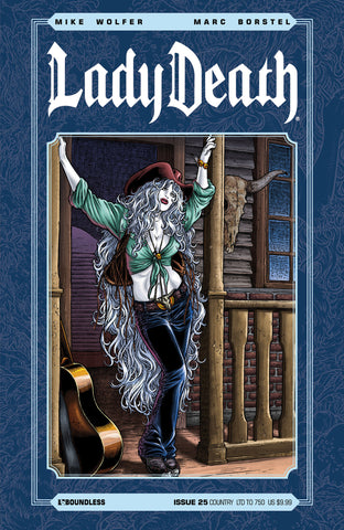 LADY DEATH #25 COUNTRY