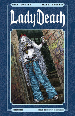 LADY DEATH #25 HIP HOP