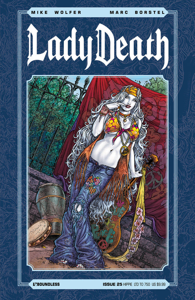 LADY DEATH #25 HIPPIE