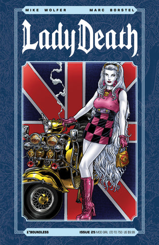 LADY DEATH #25 MOD GIRL