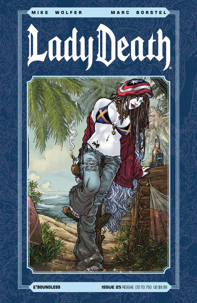 LADY DEATH #25 REGGAE