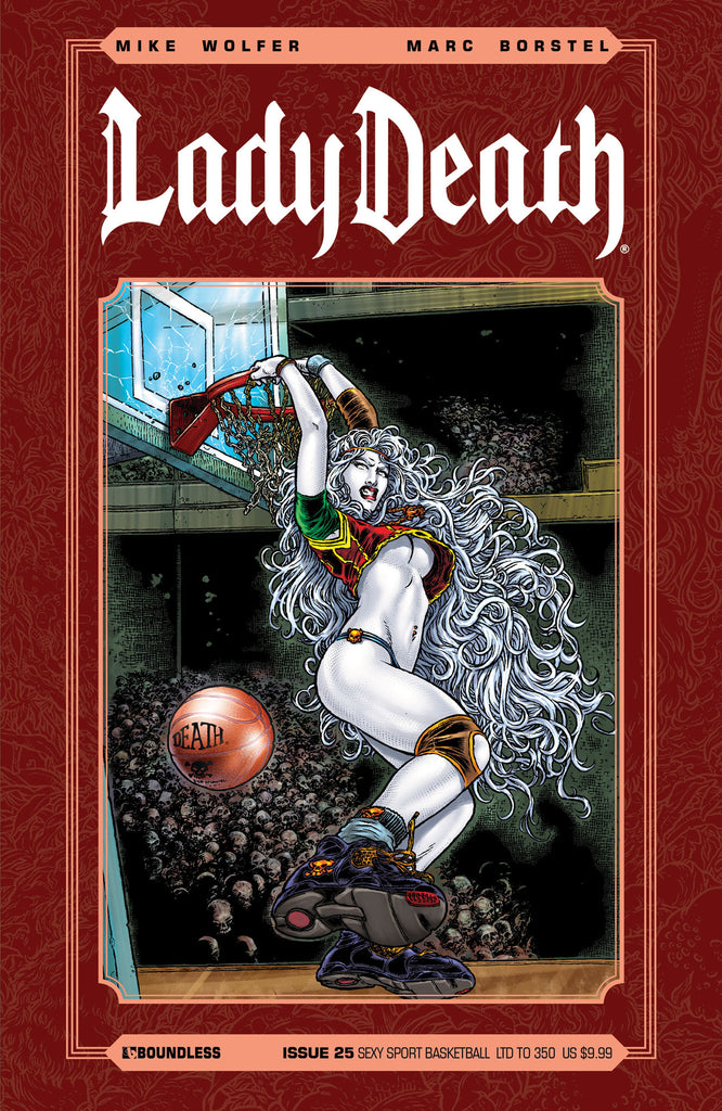 LADY DEATH #25 Sexy Sport Basketball