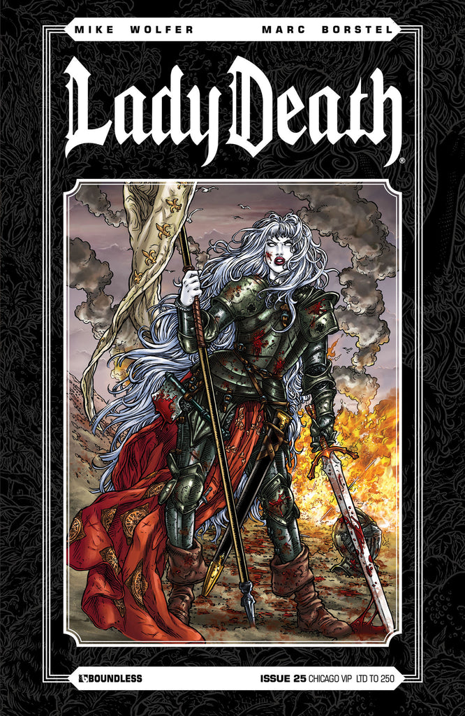LADY DEATH #25 CHICAGO VIP
