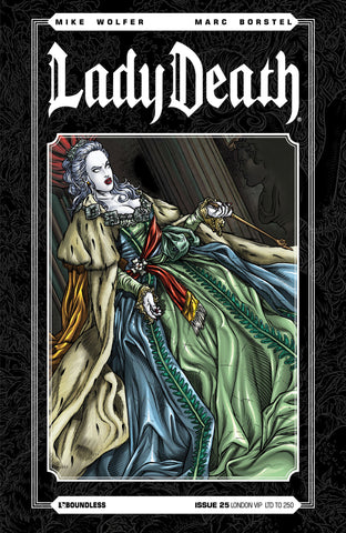 LADY DEATH #25 LONDON VIP