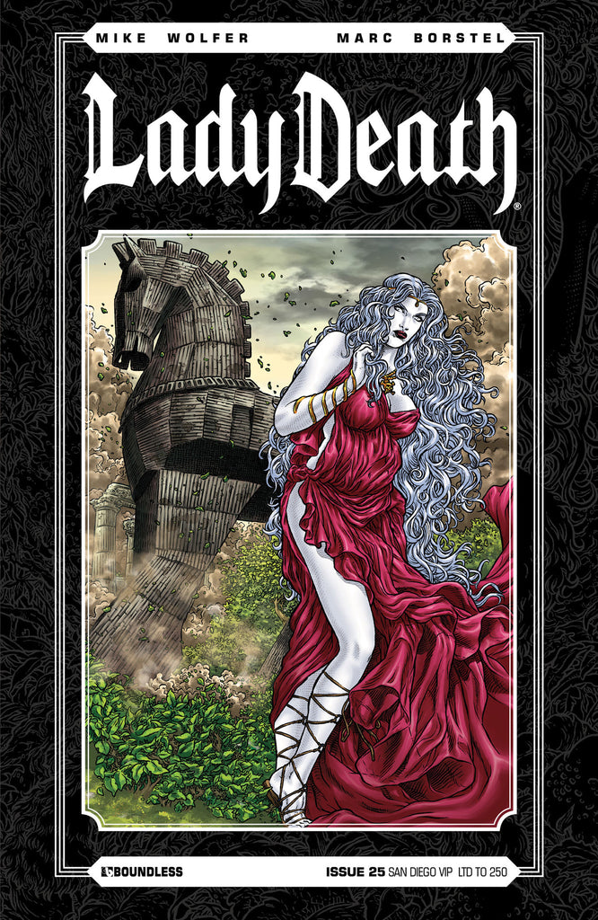 LADY DEATH #25 SAN DIEGO VIP