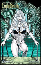 Lady Death 2005 Swimsuit by Ron Adrian Lithograph