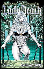 LADY DEATH Swimsuit 2005 Prism foil