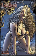 LADY DEATH 2007 Swimsuit Golden