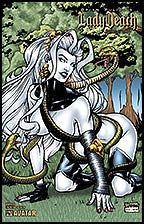 LADY DEATH 2007 Swimsuit Serpents