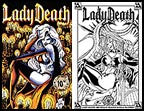 Lady Death: Between Heaven and Hell #2 10th Pr Set
