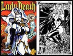 Lady Death: Between Heaven and Hell #4 10th Pr Set