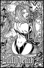 LADY DEATH Annual #1 Leather