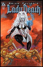 LADY DEATH Annual #1 Painted
