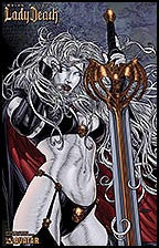LADY DEATH Annual #1 True Beauty by Juan Jose Ryp Lithograph