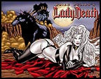 LADY DEATH Annual #1 Wraparound