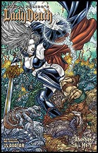 LADY DEATH: Abandon All Hope #1 Savage Beauty