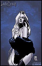 LADY DEATH Abandon All Hope #2 Premium Lithograph