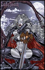 LADY DEATH : Abandon All Hope #2 by Juan Jose Ryp Lithograph