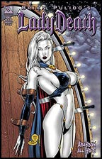 LADY DEATH: Abandon All Hope #4 Com