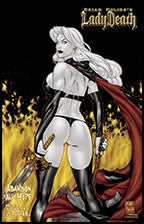 LADY DEATH: Abandon All Hope #4 On Fire