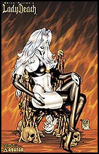 LADY DEATH Abandon All Hope #1/2 Premium Lithograph
