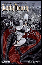 LADY DEATH : Blacklands #1/2 Gold Foil