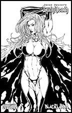 LADY DEATH : Blacklands #1/2 Leather