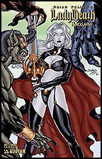 LADY DEATH Blacklands #1/2 Surprised