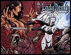 LADY DEATH: Blacklands #1 Blood Queen Wraparound