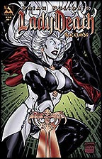 LADY DEATH: Blacklands #1 Blood Red Con Foil