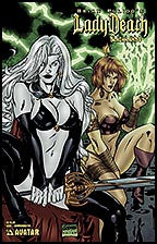 LADY DEATH: Blacklands #1 Commemorative