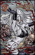 LADY DEATH: Blacklands #1 Decapitate