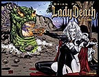 LADY DEATH: Blacklands #2 Wraparound
