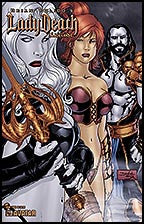 LADY DEATH: Blacklands #4 HDR