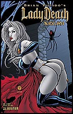 LADY DEATH Blacklands #1/2 Creepy