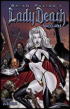 LADY DEATH: Blacklands #1/2 Ghoulish