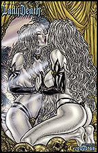 LADY DEATH Bikini Mirror Image by Juan Jose Ryp Lithograph