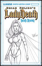 LADY DEATH: Dead Rising Martin Sketch Edition