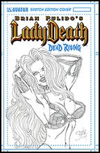 LADY DEATH: Dead Rising Sketch Edition - Sean Shaw