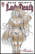 LADY DEATH Fetishes 2006 Special Gold Foil
