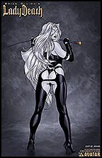 LADY DEATH Fetishes Mistress Lithograph